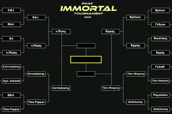 Immortal Tournament semifinals 2019