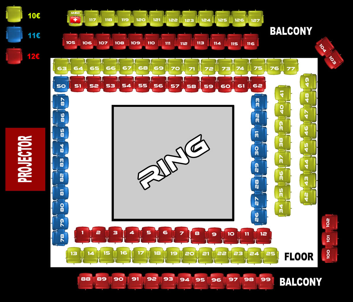 DUNGEONS seats and tickets