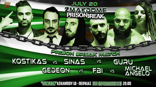 Prison Break match 2019