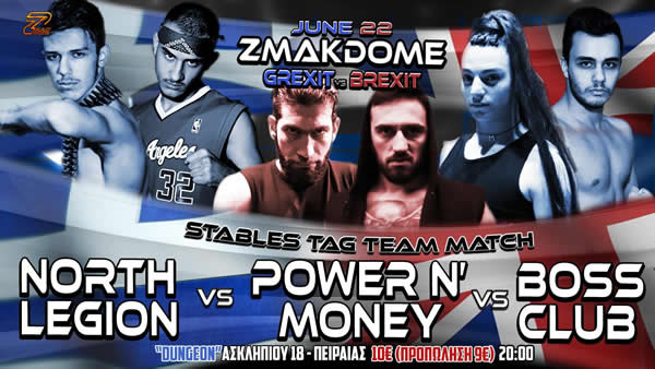 Stables tag team ZMAKDOME 21