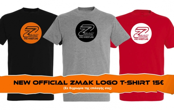 NEW ZMAK OFFICIAL LOGO logo t-shirt
