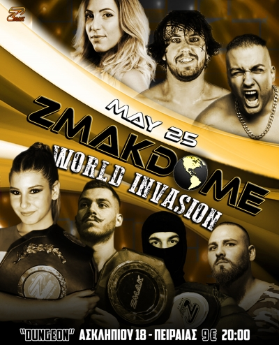 ZMAKDOME 25: World Invasion