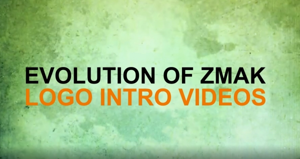 Evolution of ZMAK logo intro videos (video)