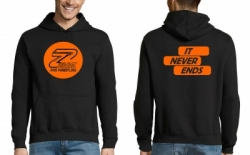 "Hoody ΖΜΑΚ / ""It Never Ends"""